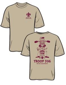 T306 Shirt Tan